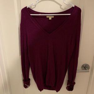 Burberry Brit 100% Cashmere V-neck Sweater